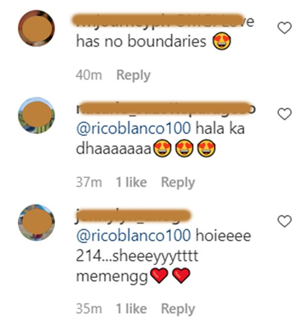 IG Comment: Netizens show support for Maris and Rico