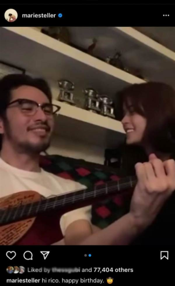 IG Video: Maris and Rico Brighter Than Sunshine duet