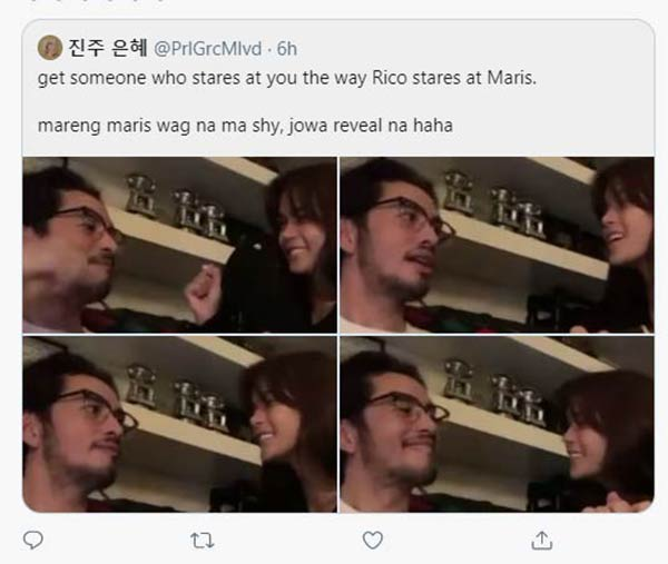 Twitter Post: Netizen teases Maris to do jowa reveal