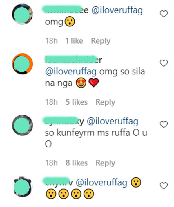 IG comment: netizens assume ruffa knows the real score between maris and rico