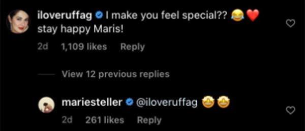 IG comment: Ruffa Gutierrez teases Maris, Maris reacts
