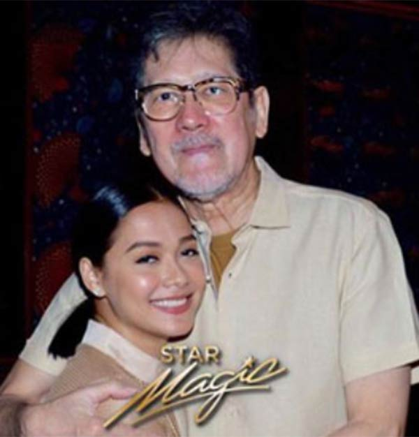 Maja Salvador with Mr. M