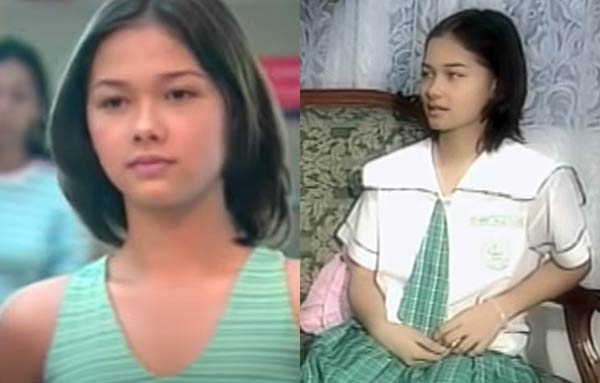 Maja Salvador pre-showbiz days