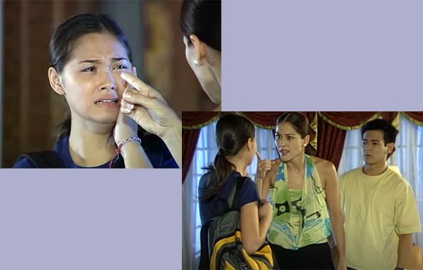 Maja Salvador with Maritoni Fernandez and John Pratts in It Might Be You