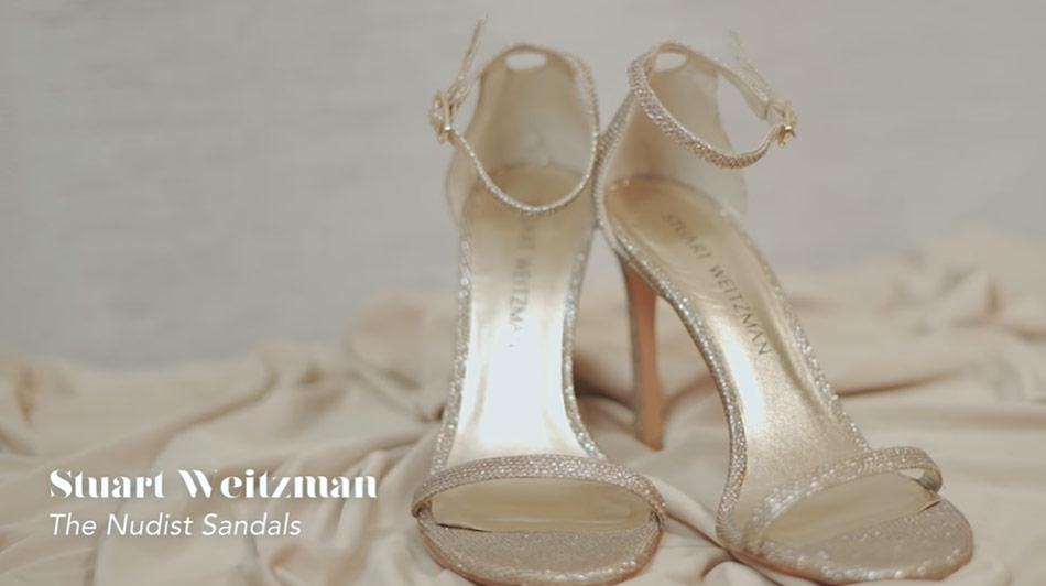 Kathryn Bernardo design shoes: Stuart Weitzman The Nudist sandals
