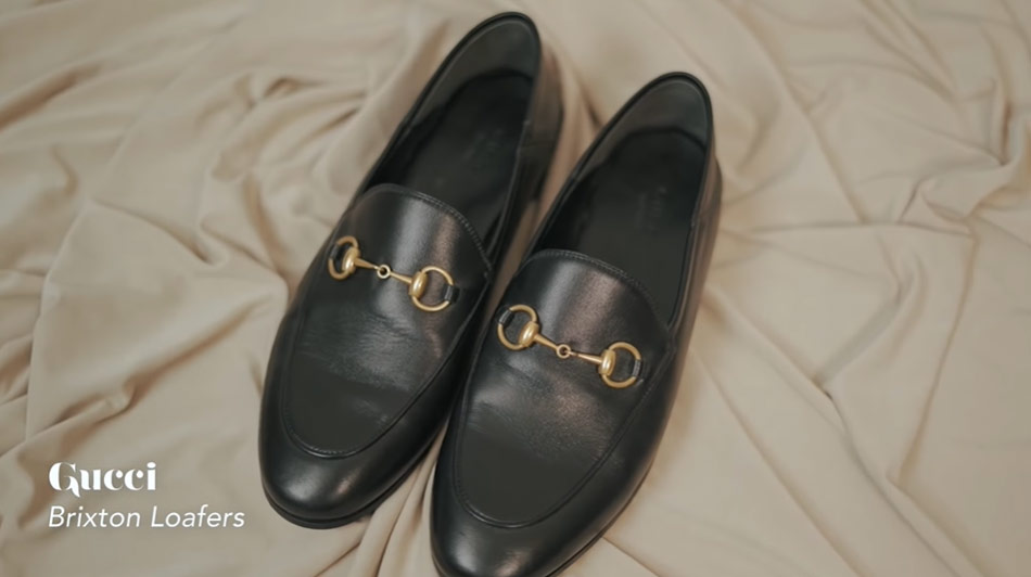 Kathryn Bernardo design shoes: Gucci Brixton Loafers