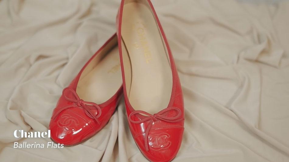 Kathryn Bernardo design shoes: Chanel's ballerina flats