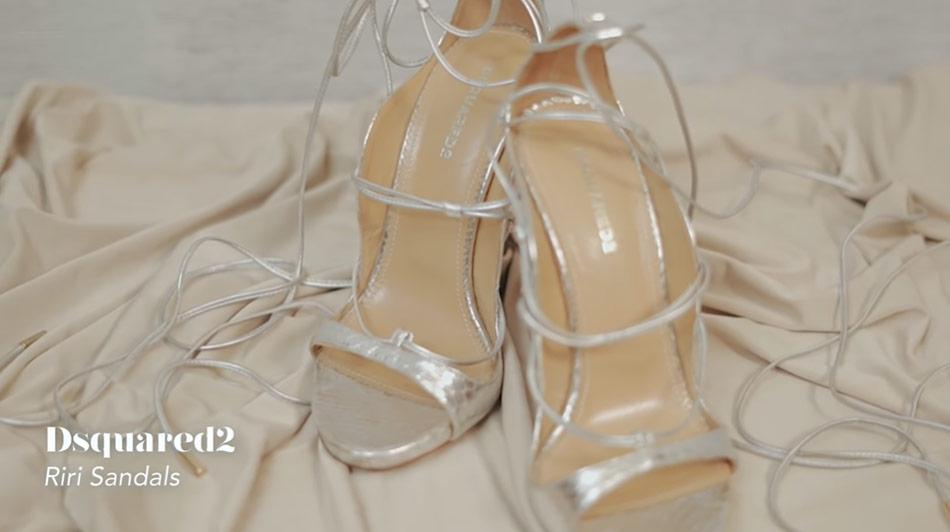 Kathryn Bernardo design shoes: DSquared2 Riri Sandals