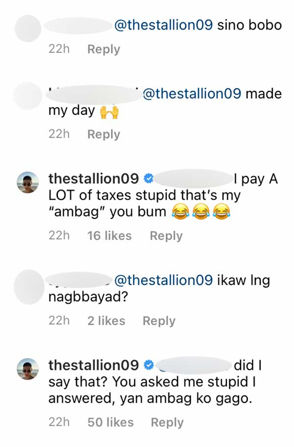 IG Comment: DDS basher calls Albie stupid, Albie claps back