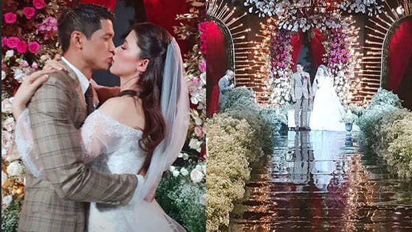 Aljur Abrenica Kylie Padilla wedding