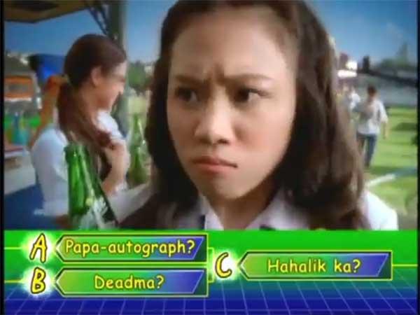 Toni Gonzaga in I Love You Piolo commercial