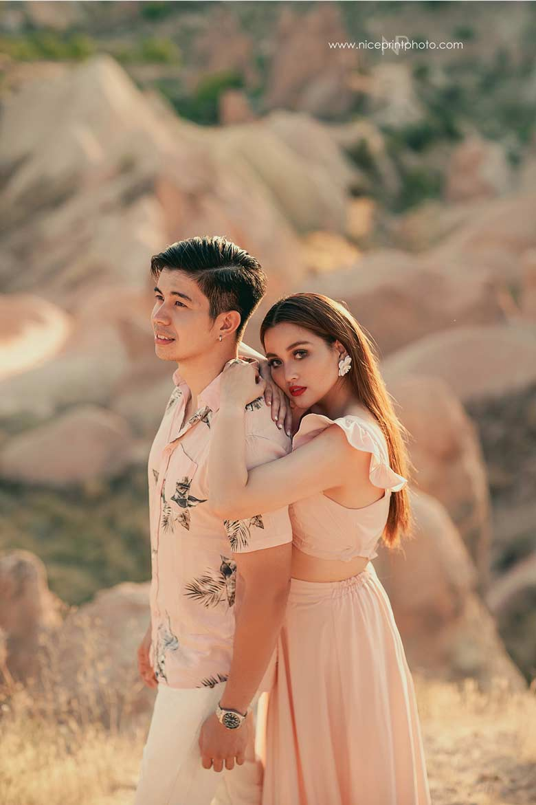 Rodjun Cruz, Dianne Medina pre-nuptial photo