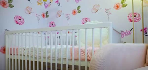 Youtube Vlog: nursery room  electric baby cradle