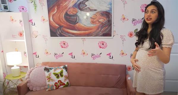 Youtube Vlog: nursery room sofa bed