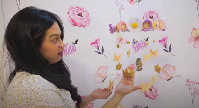 Youtube Vlog: princess garden themed nursery room