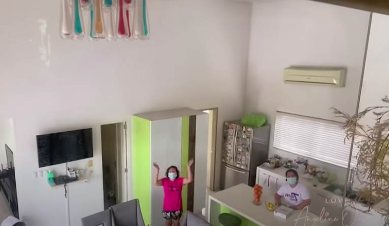 Youtube Vlog: Angeline Quinto during self-isolation with househelpers