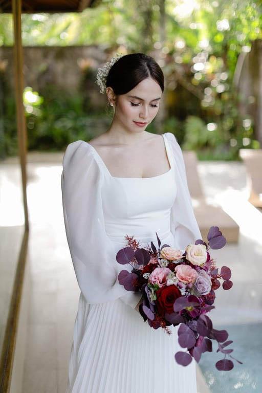 Jessy Mendiola bridal look