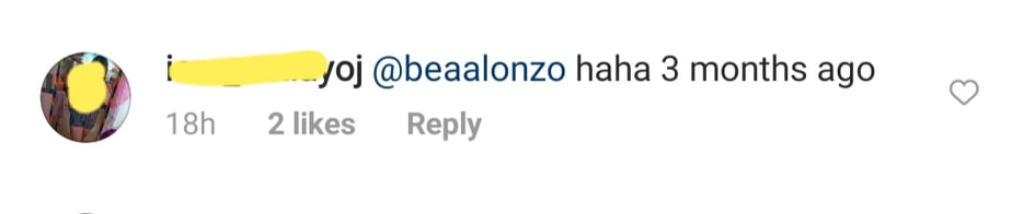 IG Comments: Netizen connects photo to Bea Alonzo cyptic post