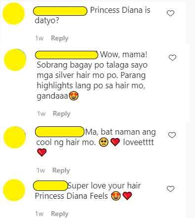 IG Comments: Fans compare Dawn Zulueta to Princess Diana