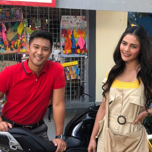 Rocco Nacino and Lovi Poe in Owe My Love