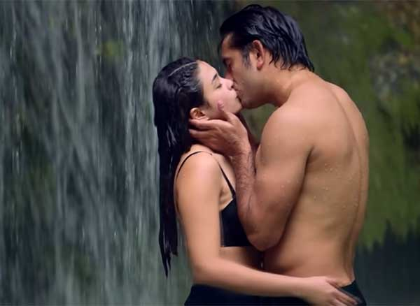 Yam Concepcion and Gerald Anderson kissing since in Init Sa Magdamag