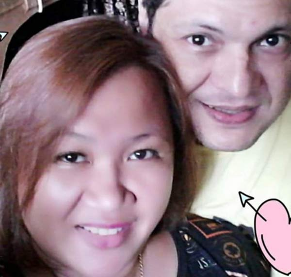 Dennis Da Silva and wife Tina