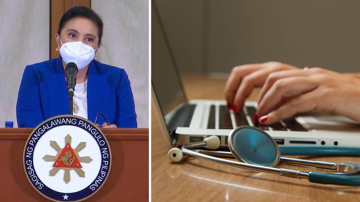 Leni Robredo, telemedicine, COVID-19