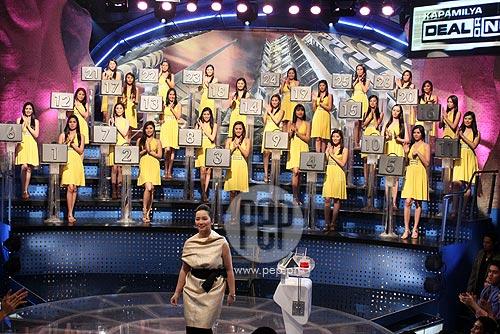 Kris Aquino and the 26K girls in Kapamilya Deal Or No Deal