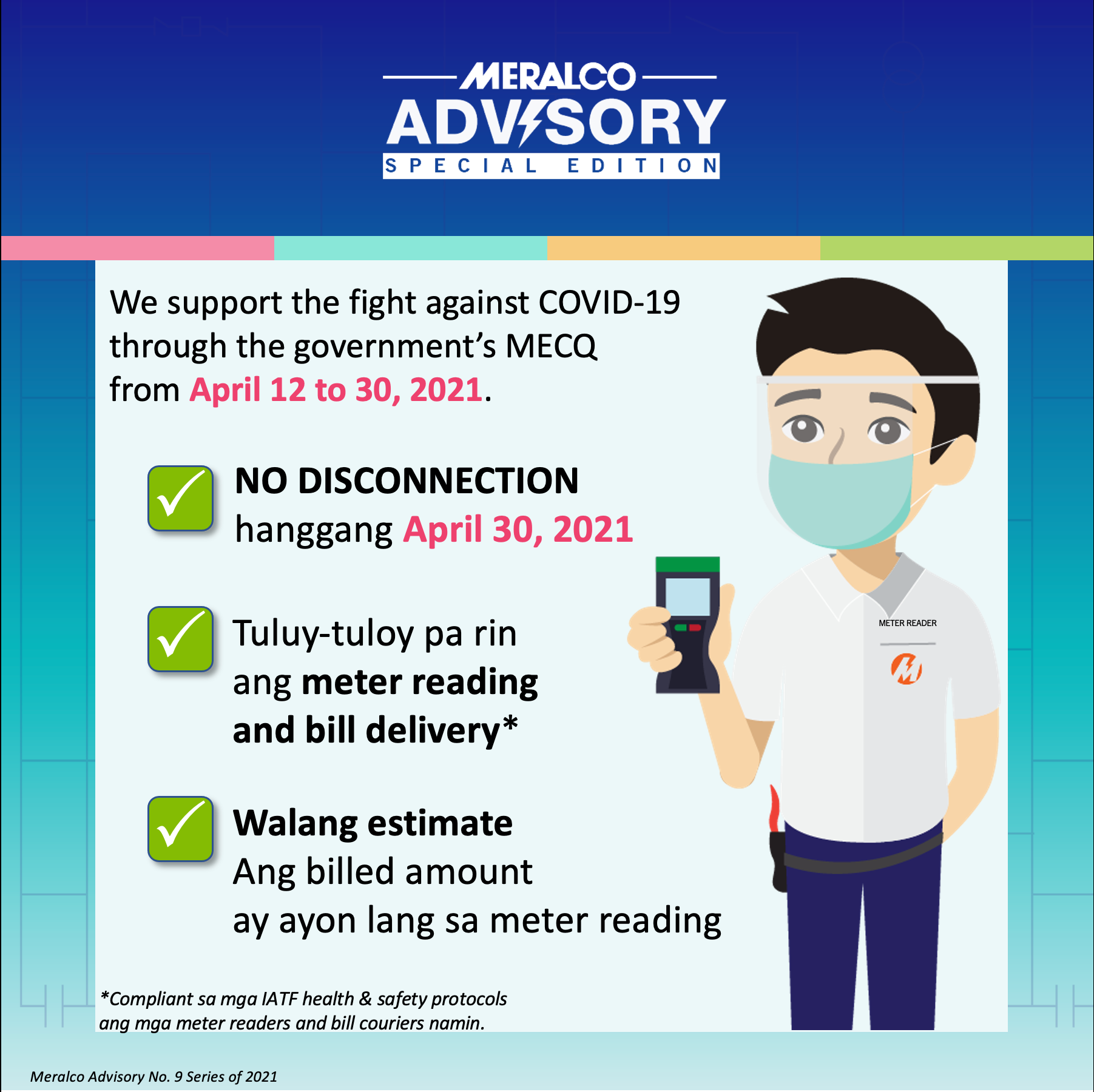 Meralco advisory for MECQ