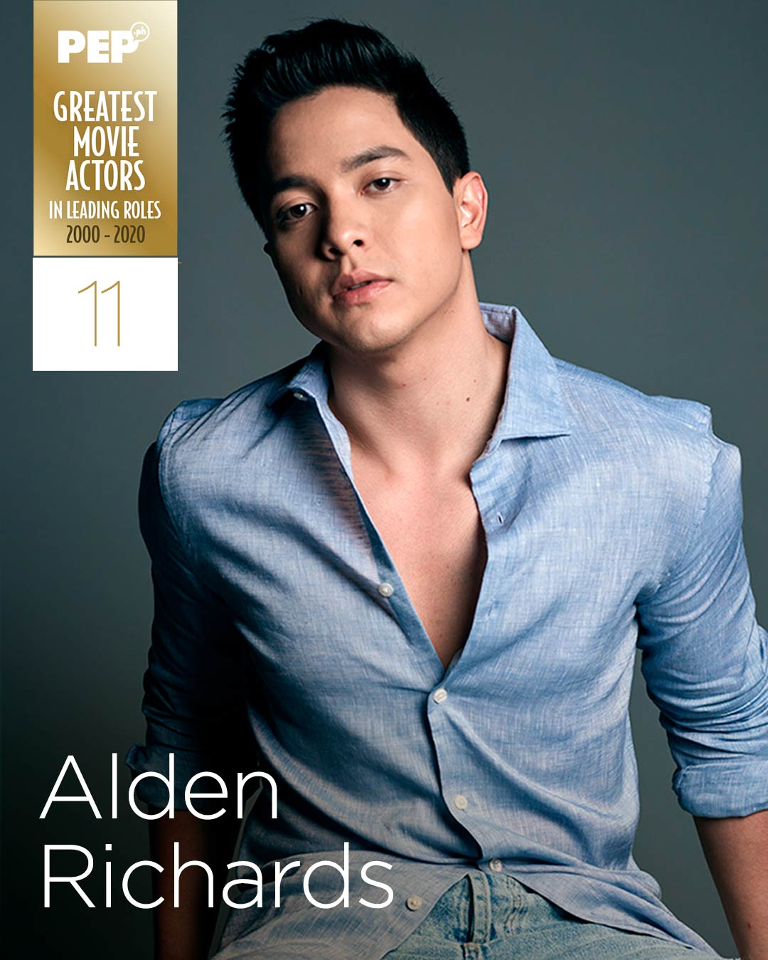 Alden Richards, 15 Greatest Movie Actors in Leading Roles