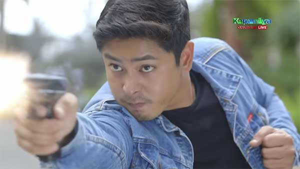 Coco Martin gun scene in Ang Probinsyanoy