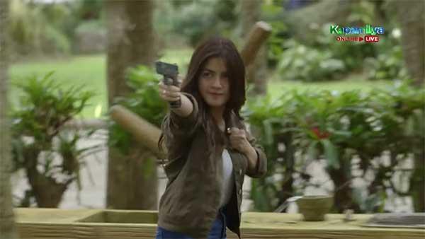Jane De Leon gun scene in Ang Probinsyano