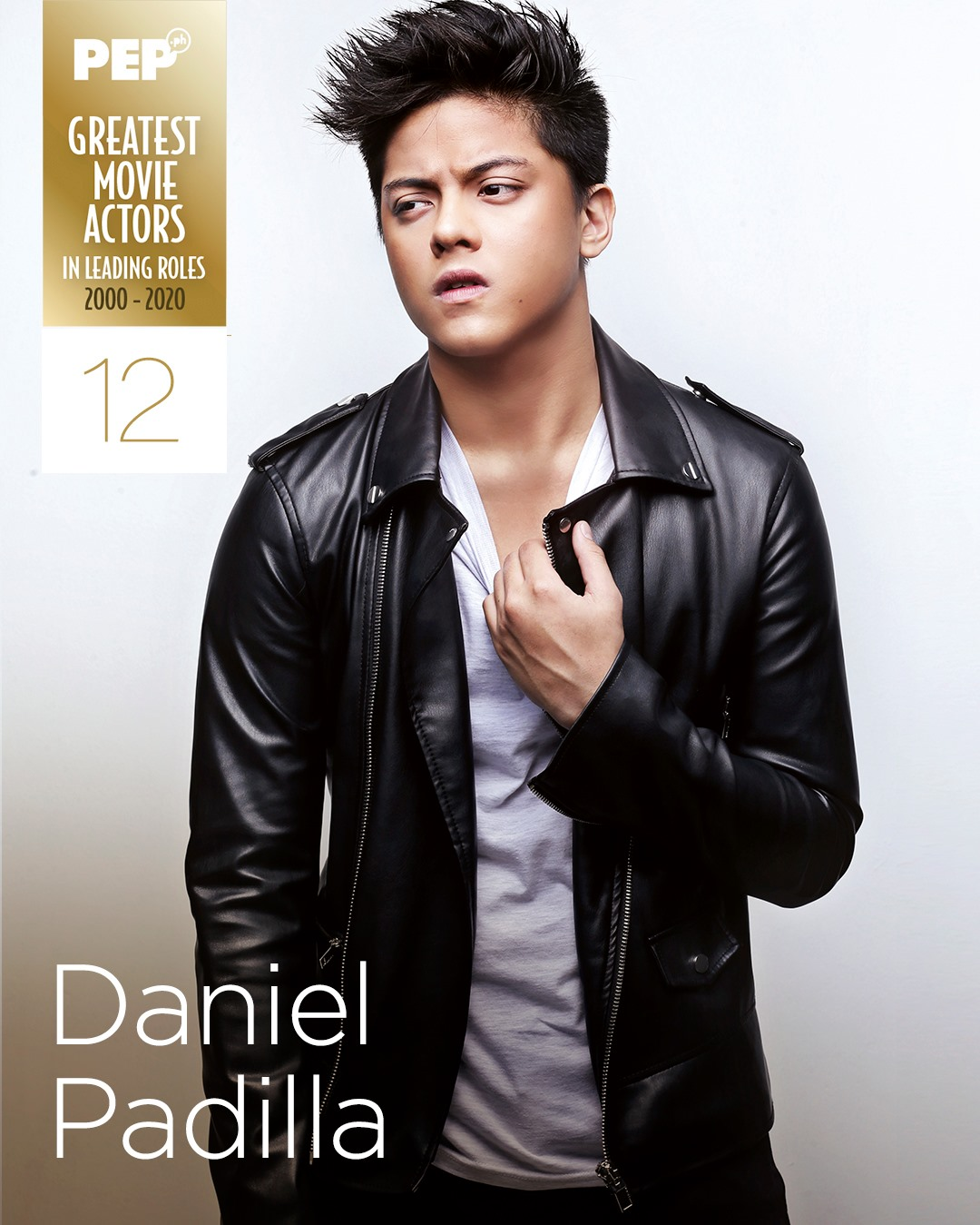 Daniel Padilla, 15 Greatest Movie Actors in Leading Roles
