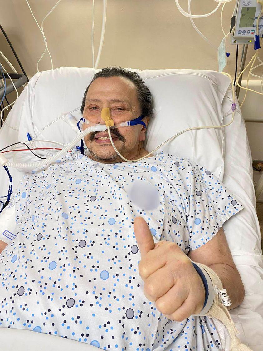 Joseph Estrada COVID-19 recovery
