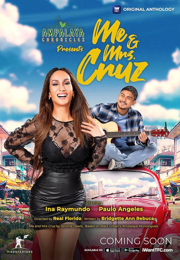 Ina Raymundo, Paulo Angeles in Mr and Mrs Cruz