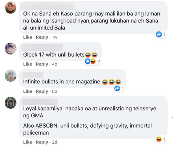Netizens funny comments on Jane-Coco gun scene in Ang Probinsyano