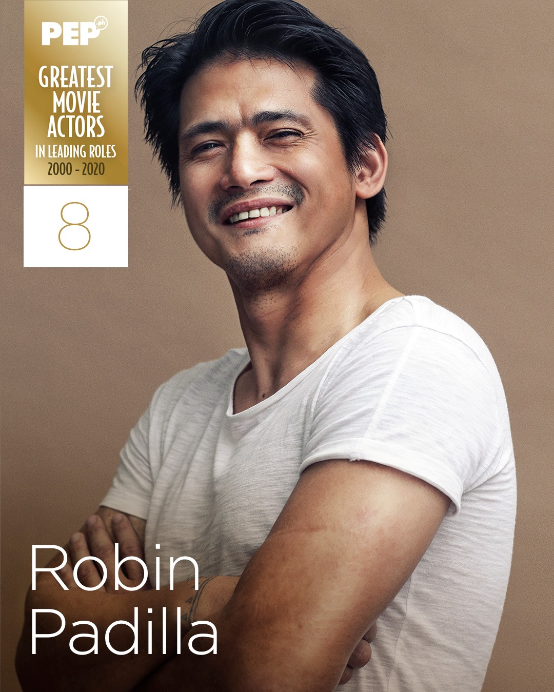 Robin Padilla, 15 Greatest Movie Actors in Leading Roles