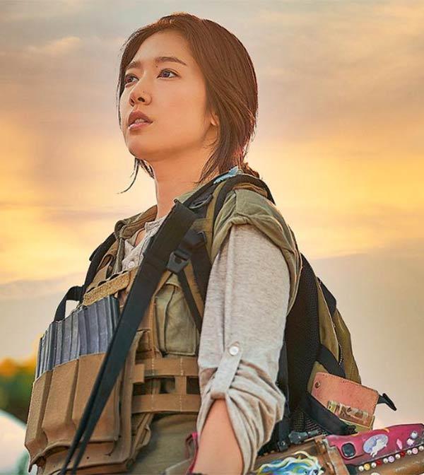 Park Shin-hye in Sisyphus: The Myth