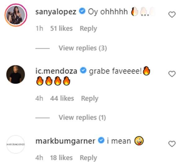 Sanya Lopez, IC Mendoza, Mark Bumgarner react to Derrick Monasterio underwear photo