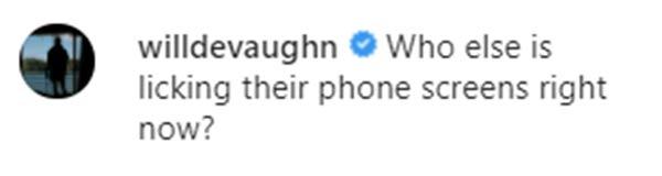 Will Devaughn reacts to Derrick Monasterio underwear photo