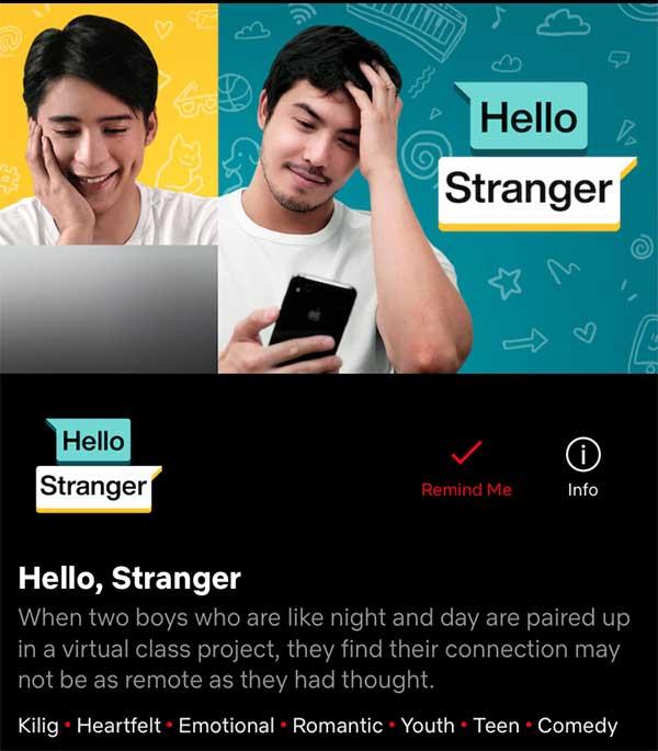 Hello, Stranger on Netflix
