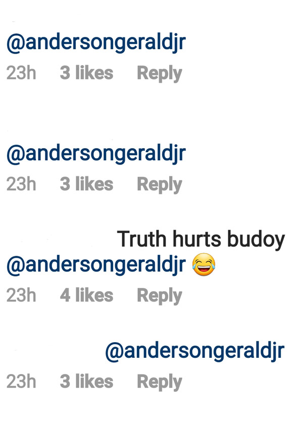 IG Comment: Netizens tag Gerald Anderson on Janus post