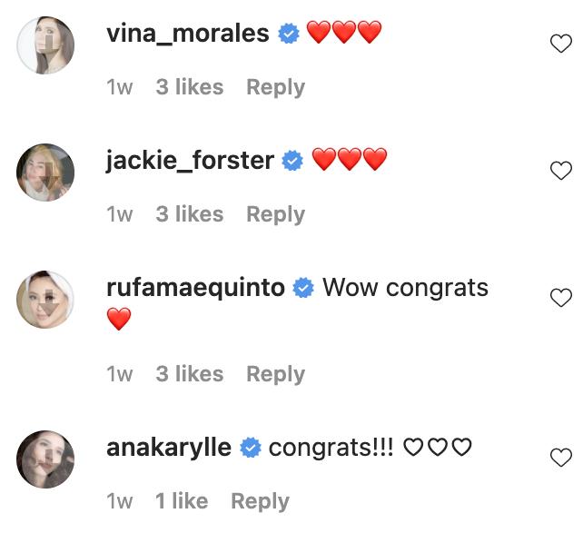 Vina Morales, Jackie Forster, Rufa Mae Quinto, Karylle congratulates Donita Rose for new job