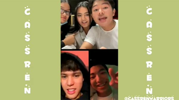 IG Live with Clarence, Patricia, Cassy and Darren