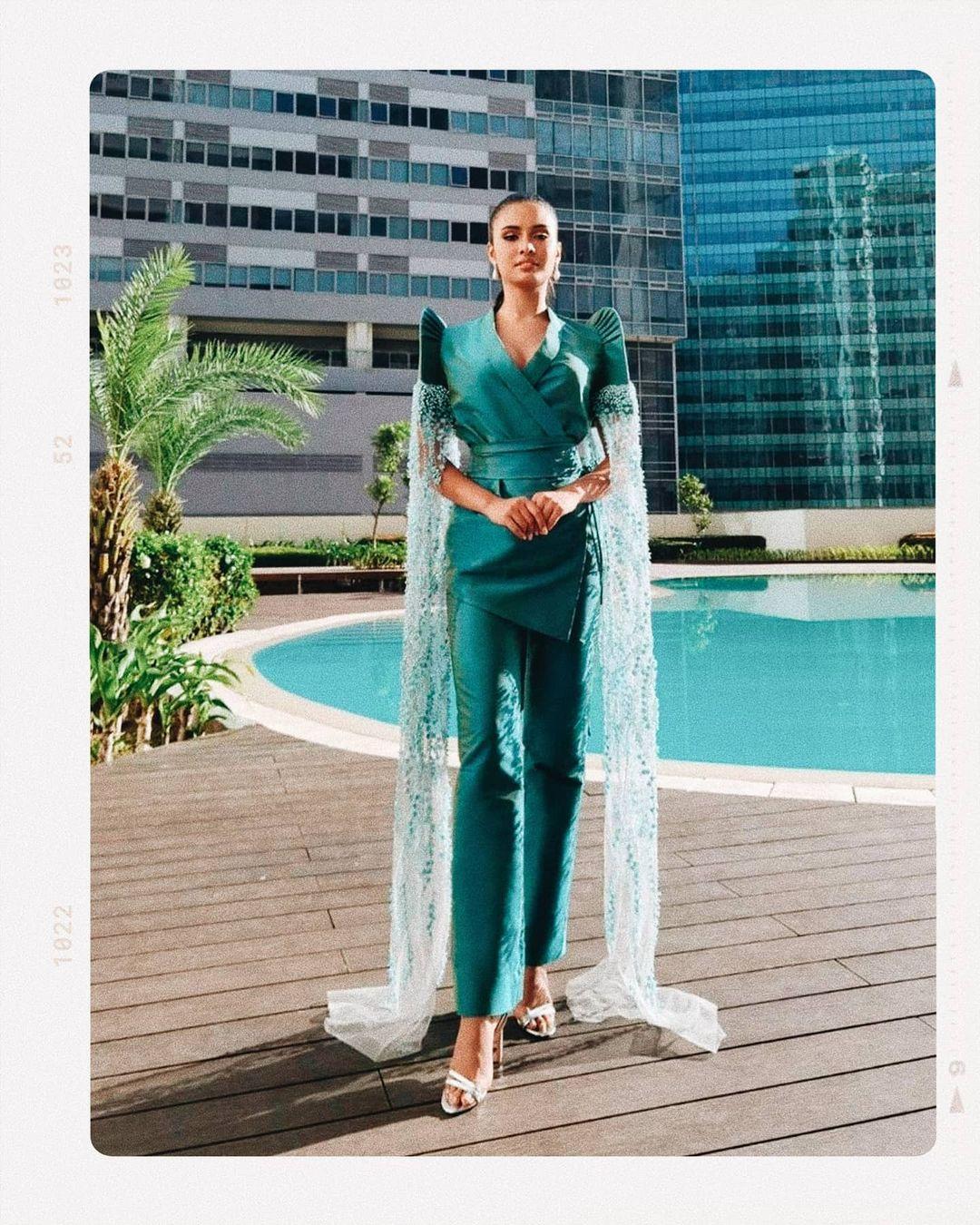 Rabiya Mateo Miss Universe pageant outfit