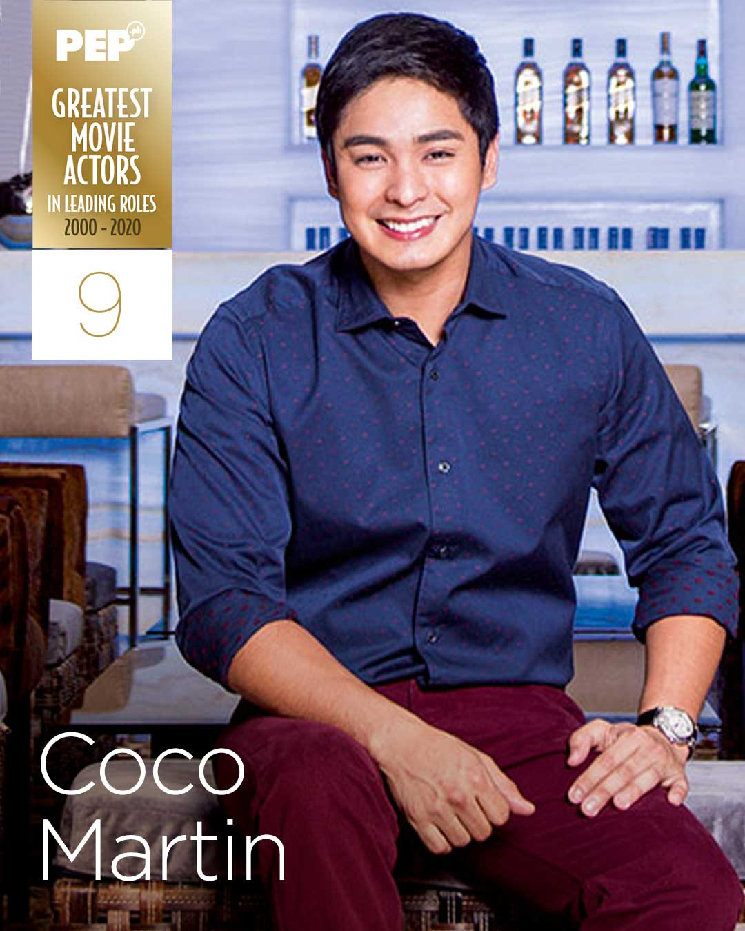 Coco Martin, 15 Greatest Actors in Leading Roles