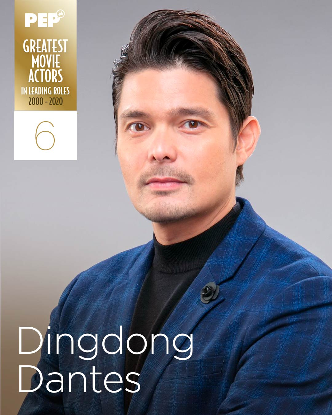 Dingdong Dantes, 15 Greatest Movie Actors in Leading Roles