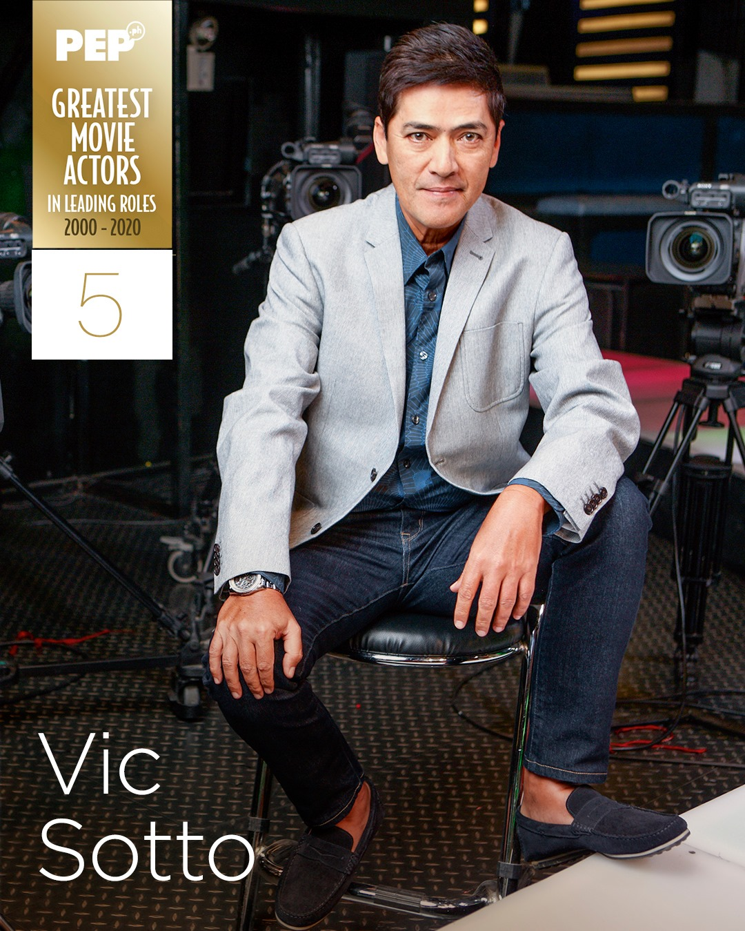 Vic Sotto, 15 Greatest Movie Actors in Leading Roles