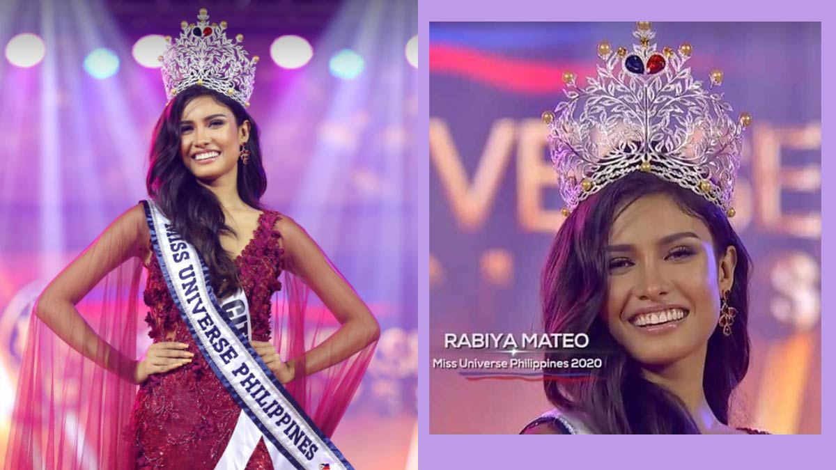 Rabiya Mateo wins Miss Universe Philippines 2020
