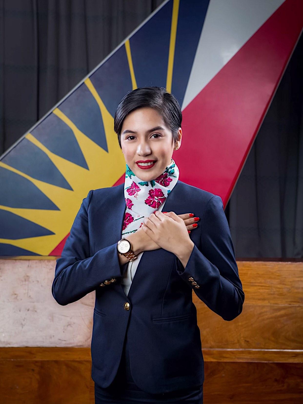 PAL retrenched flight attendant Ella Infante